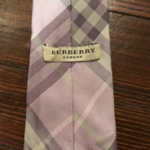 Authentic Burberry Tie